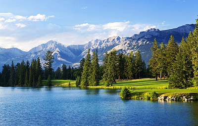 Win A Golf Trip Of A Lifetime To Alberta S Canadian Rockies Canadian Rockies Golf L Golf In