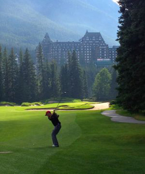 Canadian Rockies Golf Know The Pro Steven Young